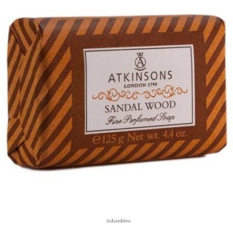 ATKINSONS 125GR PILL SOAP SANDAL WOOD