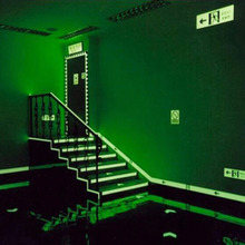 Sticker Glow-In-The-Dark Tape-Safety Fluorescent Security Luminous Night-Self-Adhesive
