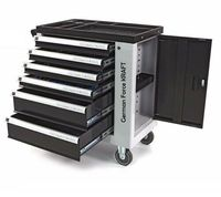 TROLLEY PROFESSIONAL WORKSHOP TOOLS MOBILE WITH WHEELS AND DOOR 345 PIECES