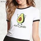 Cute Avocado Cartoon...