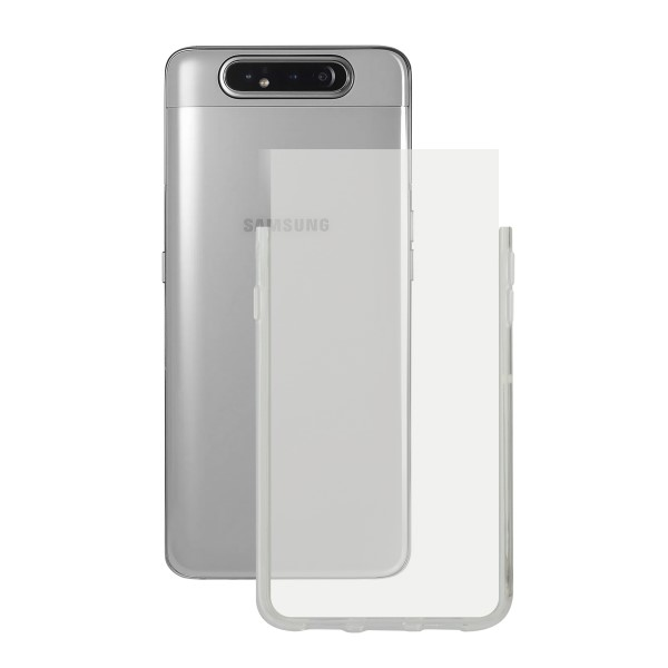 Mobile cover Samsung Galaxy A90 KSIX Transparent   - title=