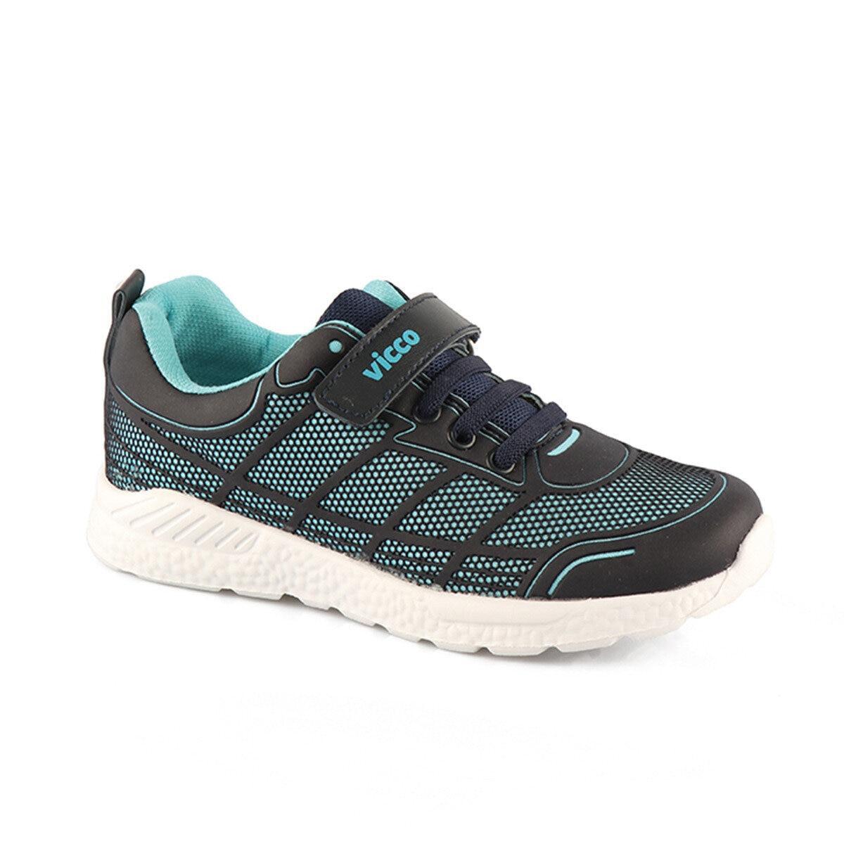 FLO 348.18K.124 PHYLON Navy Blue Unisex Children Sneaker Shoes VICCO
