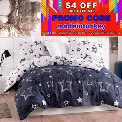 Lady Moda Star Luxury Bed Linen Cotton Set Ranforce Bedding Set Twin/Full/Queen/King Size 3/4/5 pcs Bed Sheet Duvet Cover Set