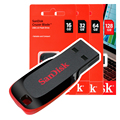 Флеш-накопитель Sandisk Pendrive Memoria USB Cruzer Blade 16 ГБ 32 ГБ 64 ГБ 128 ГБ