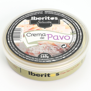 IBERITOS-tin turkey soup cream 140G-turkey soup cream butter