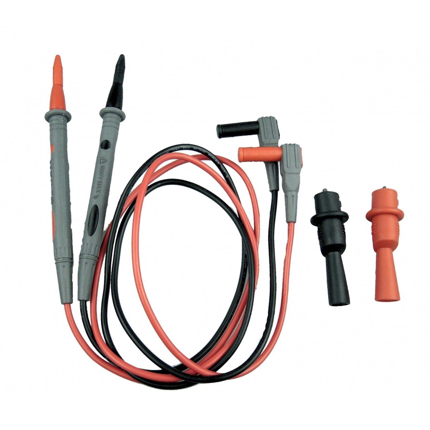 Multimeter cord with alligator clips