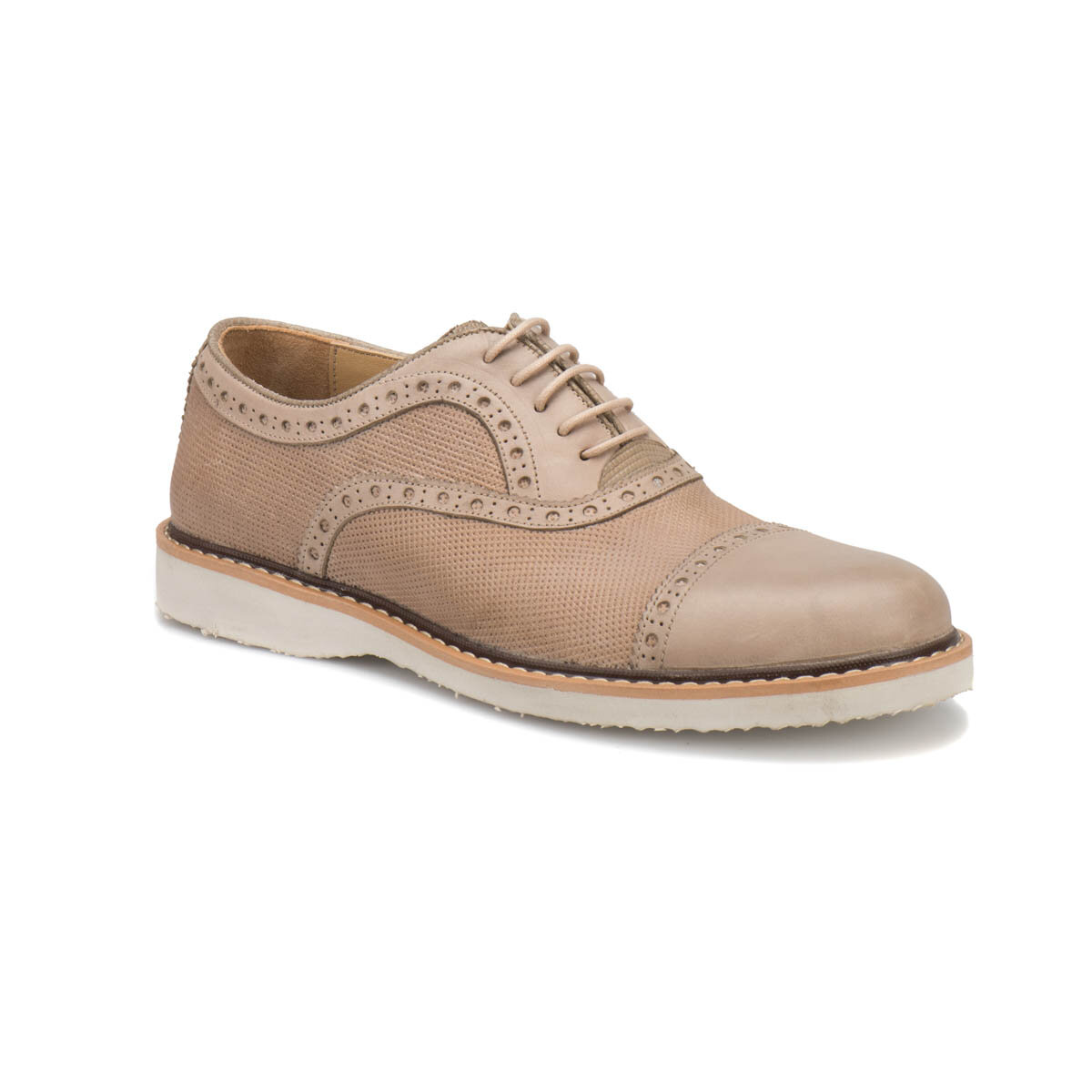 FLO 7416 M 1506 Beige Men 'S Modern Shoes Garamond
