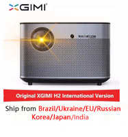 XGIMI H2 1920*1080 dlp proyector Full HD 1350 lúmenes ANSI 3D proyector soporte 4K Android wifi Bluetooth beamer