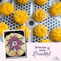 紫薯包,南瓜包的做法图解7
