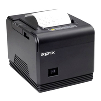 Tpv 프린터 약 Apppos80am Termica 80mm USB 및 직렬 수동 및 자동 절단 연결