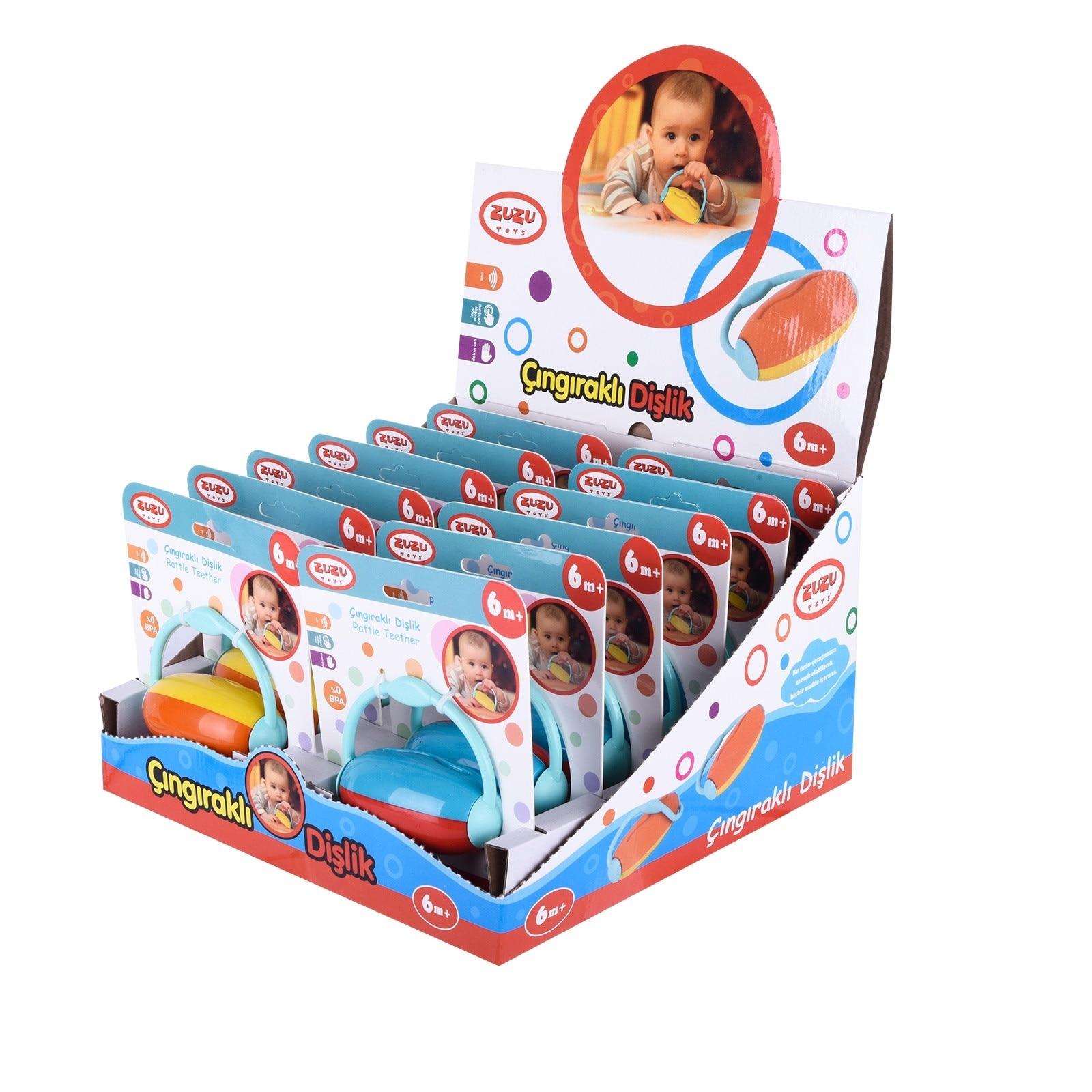 Ebebek Zuzu Toys Rattle Baby Teether