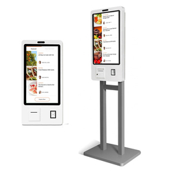 21.5 Inch Zelf Order Service Kiosk Stand Of Wandmontage (Android Of Windows, Printer, Barcode Reader, software Niet Inbegrepen)