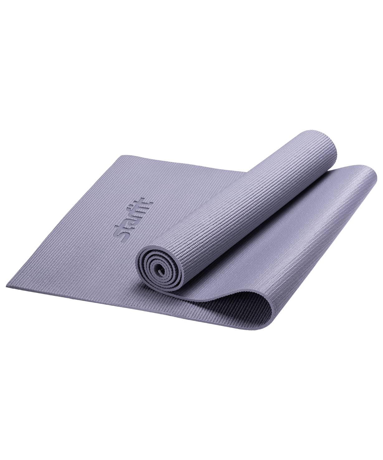 Коврик для йоги FM 101, PVC, 173x61x1,0 см (Серый)|Коврики для йоги| | АлиЭкспресс