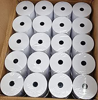 100 rolls thermal 57x55mm for tpv ticket printer. Shipping included The thermic paper for printers from 58mm