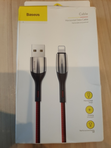 Baseus 2.4A Lighting USB Cable for iPhone XR Xs X 8 7 6 Plus Fast Charging USB Charger Cable Mobile Phone Charger Cord Data-in Mobile Phone Cables from Cellphones & Telecommunications on AliExpress - 11.11_Double 11_Singles' Day