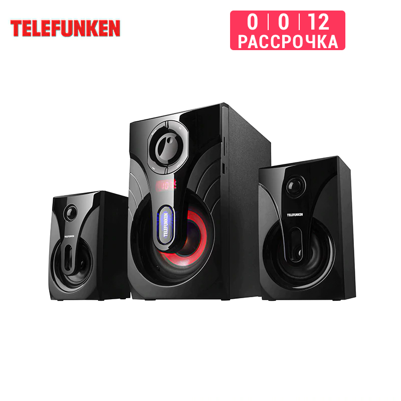 Music Center 2.1 Telefunken Tf-msm2. 102