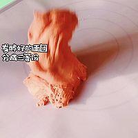红丝绒紫米欧包的做法图解3