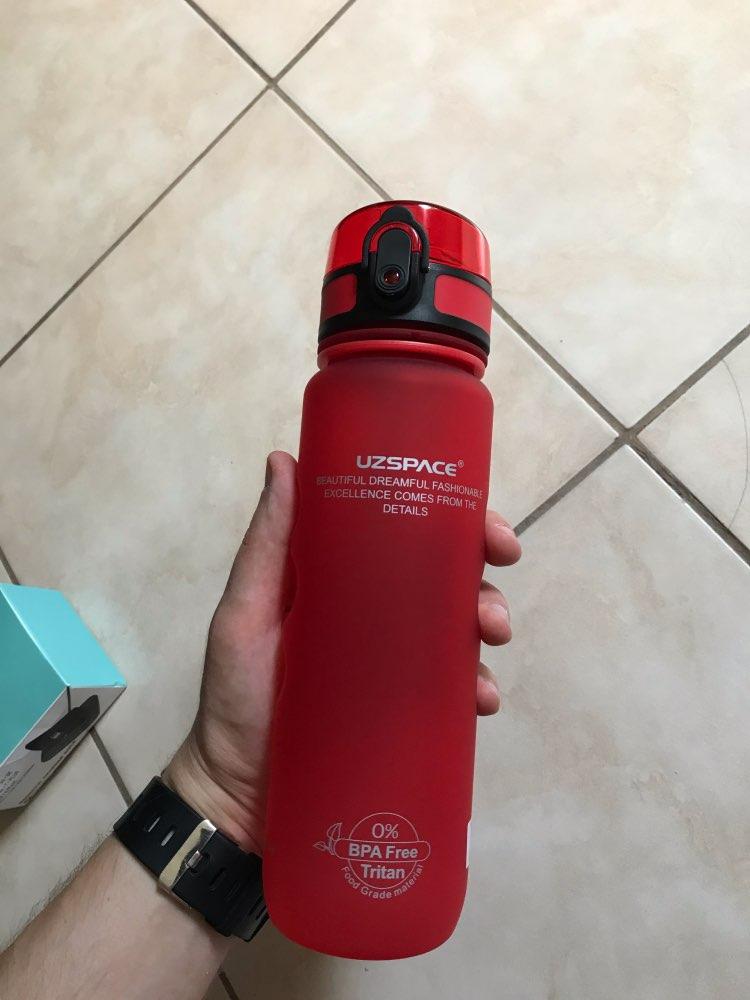 UZSPACE Sport Water Bottle Direct Drink or Straw fruit Infuser Bottle 500ml Portable Leakproof Gourde Plastic Drinkware BPA Free Water Bottles    - AliExpress