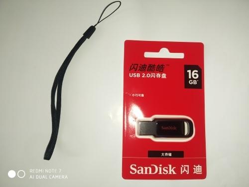 100% real capacity mini usb 2.0 pen drive 128gb 64gb 32gb 16gb CZ61 pendrive original SanDisk black usb flash drive for PC-in USB Flash Drives from Computer & Office on AliExpress