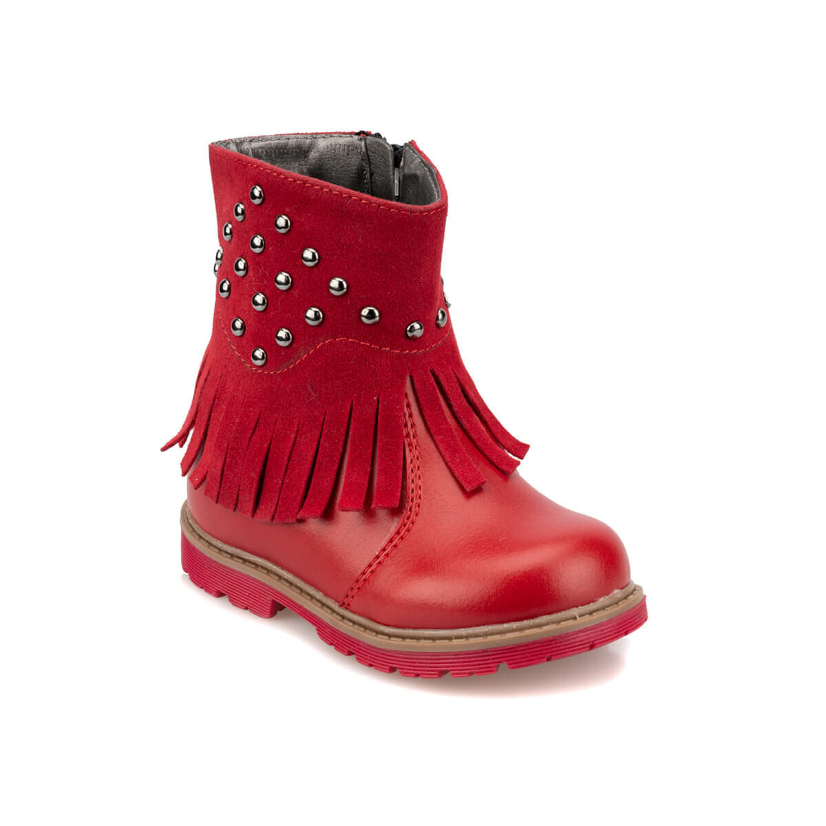 FLO 92.511765.B Red Female Child Boots Polaris