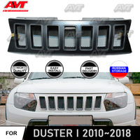 Radiator grille for Renault/Dacia Duster 2010~2018 ABS plastic front bump decor design sports styles car styling car accessories