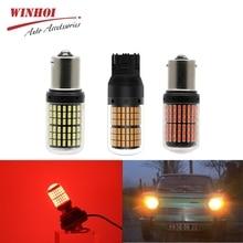 1156 P21W/PY21W T20 WY21W Bau15s 7440 3014 144SDM Led CanBus безотказный Универсальный Автомобильный DRL поворотник задний светильник s Реверсивный светильник
