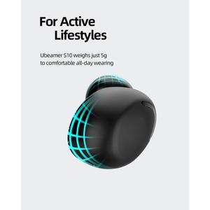 Image 5 - Ubeamer Draadloze Koptelefoon Touch Control, Led Display,Noise Annuleren Hoofdtelefoon, Waterdicht, beste Bluetooth F9 Menselijk Oordopjes Met Microfoon