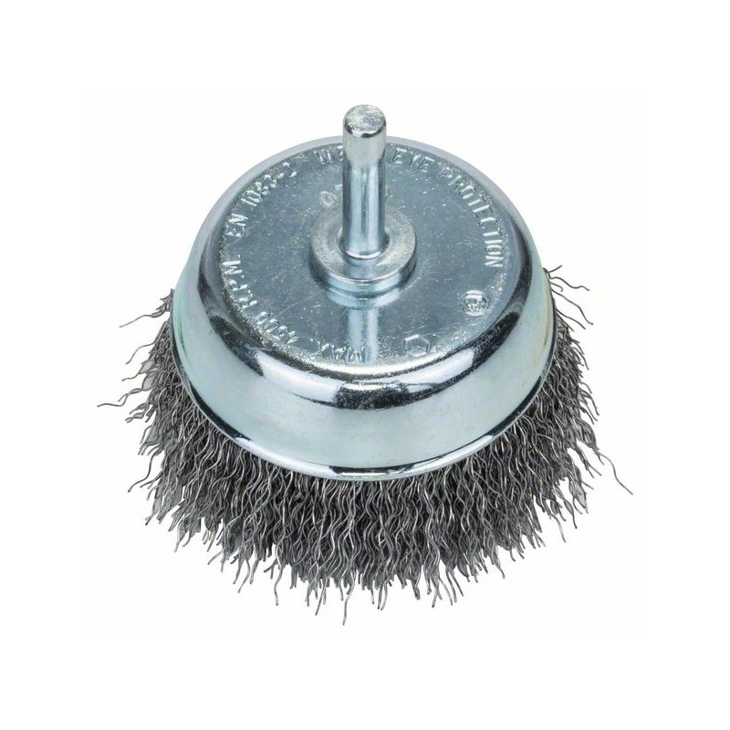 BOSCH-Brushes Drill Glass, Crimped Wire, 70 Diameter = 70