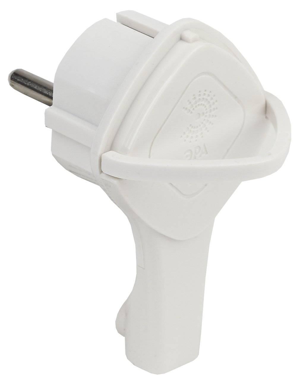 V5(U)  ЭРА Вилка ультраплоская c/з 16A с кольцом белая 5055945555691|Аксессуары для электрических розеток|   | АлиЭкспресс
