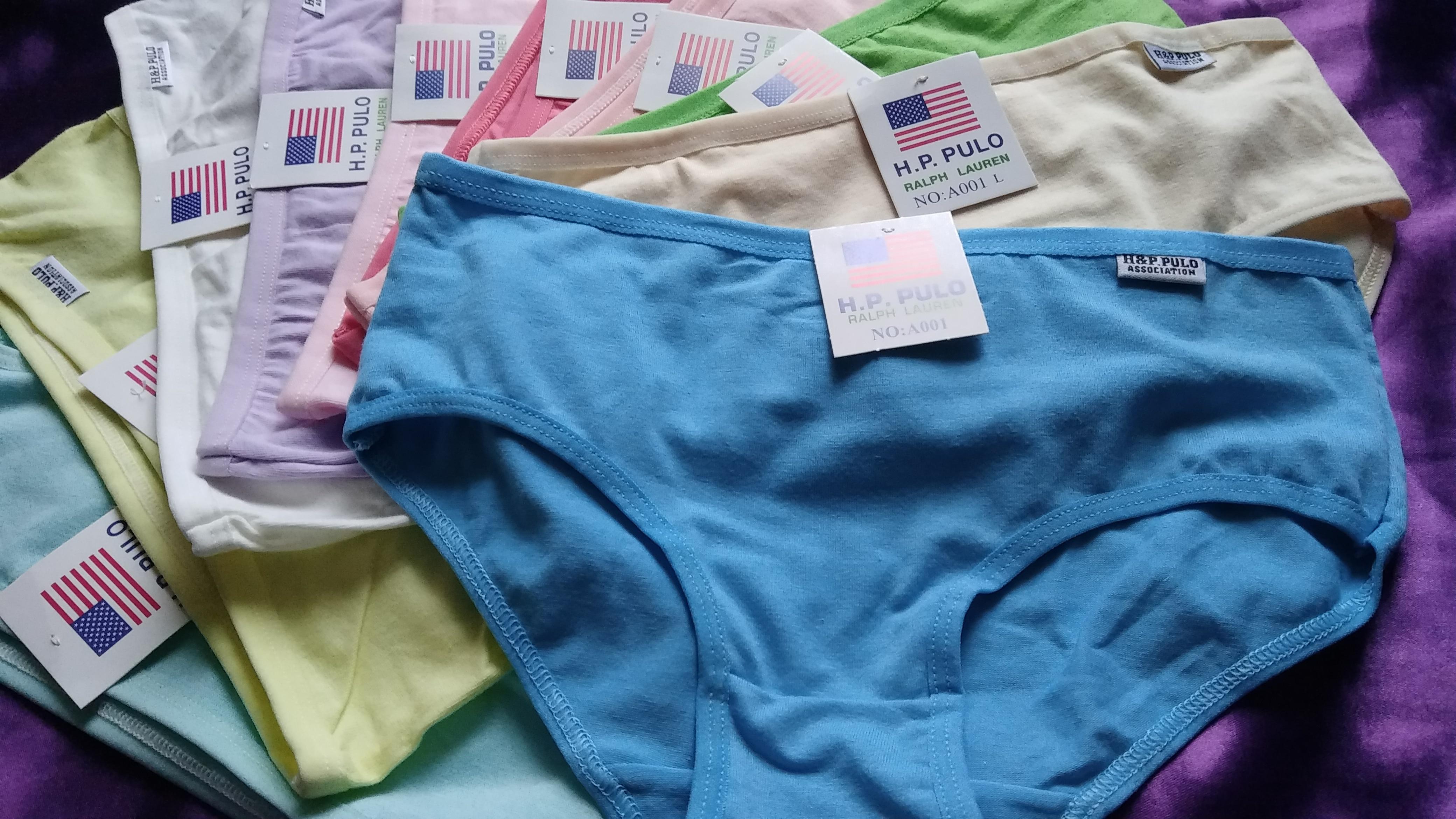 10Pcs Girls's Cotton Blend Panties Briefs Lingerie Shorts For Women Ladies Girls photo review
