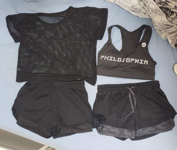 Kits de ioga roupas conjunto sportswear