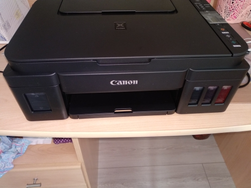 МФУ CANON PIXMA G3411 чернила в комплекте