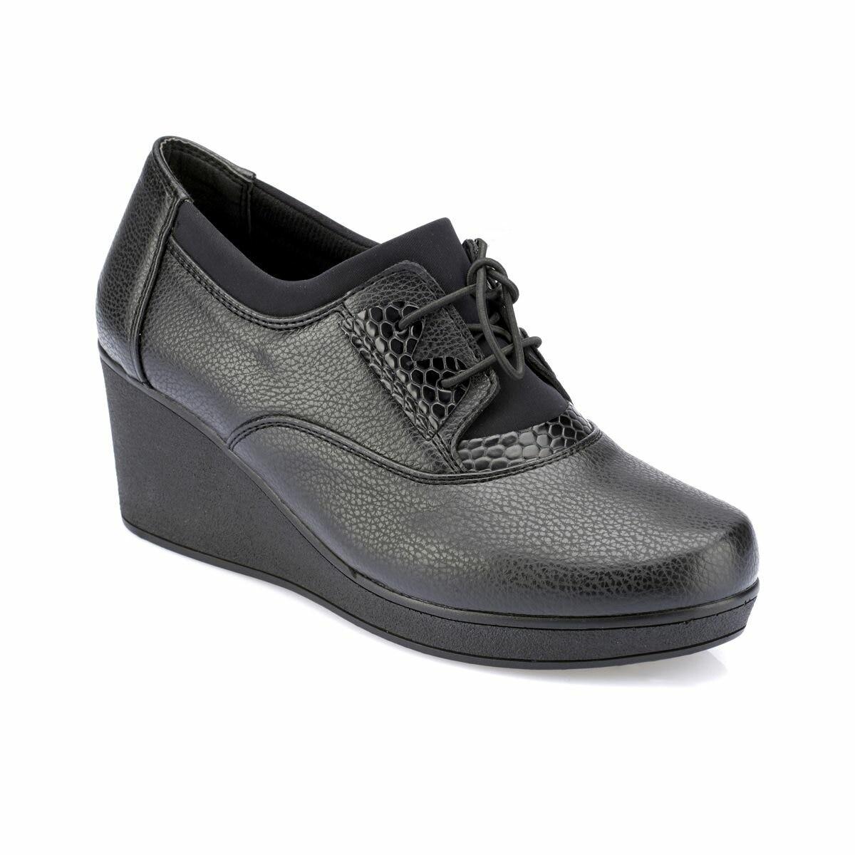 FLO 82.110058.Z Black Women Shoes Polaris 5 Point