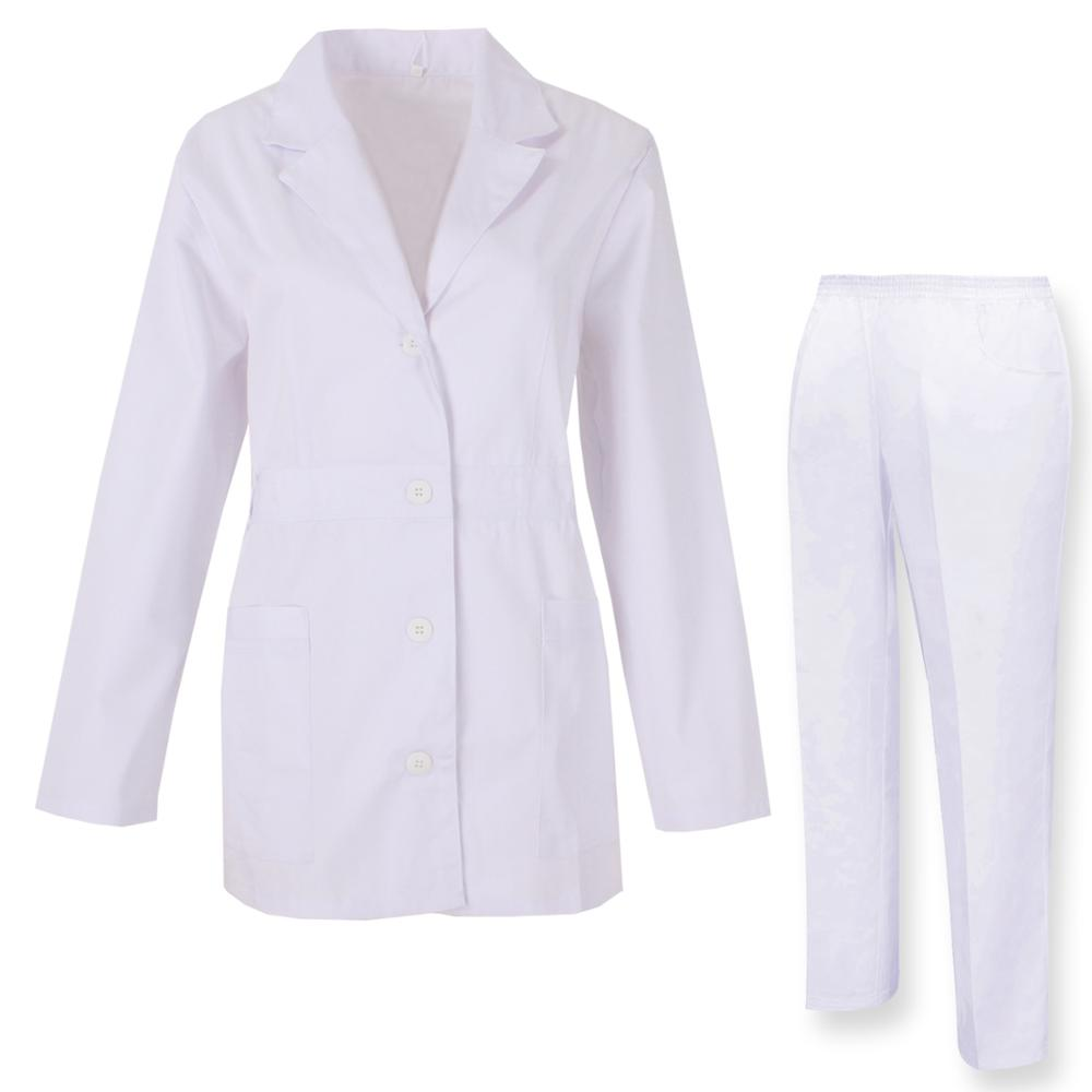 Robe Laboratory And PANT NECK REFURBISHED Sanitaries UNIFORMS UNIFORM MEDICOS-Ref.81648