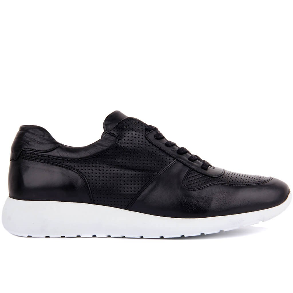 Sail Lakers-Genuine Leather Men Casual Shoes Breathable Fashion Sneakers Lace-Up Man Shoes Tenis Masculino Shoes Zapatos Hombre Sapatos Outdoor Shoes Size 40-45