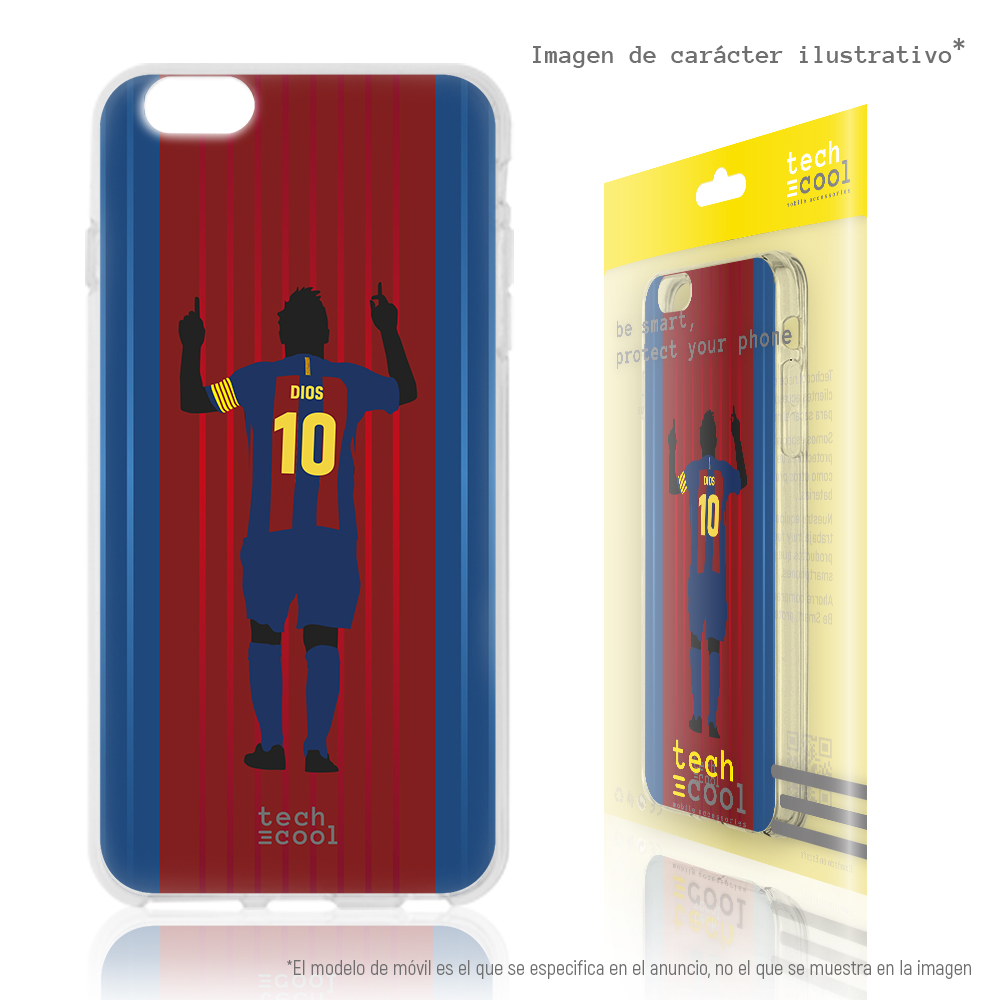 FunnyTech®Silicone Case skin <font><b>cover</b></font> for <font><b>LG</b></font> <font><b>K4</b></font> 2017 L Messi D10S Design 2 background Barca image