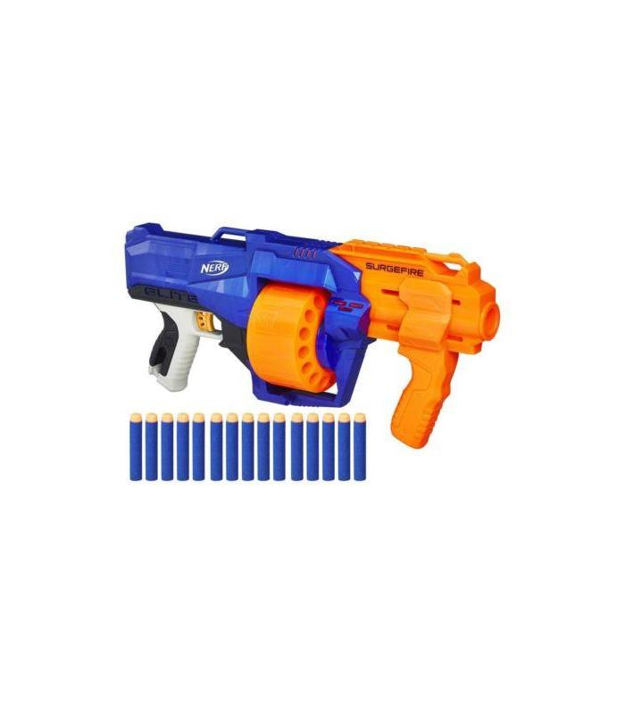 Nerf Gun Nstrike Surgefire With 15 GIVES Toy Store