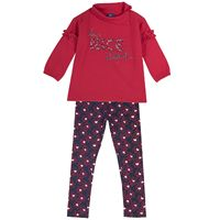 Set (jacket + pants) Chicco for girls, color blue