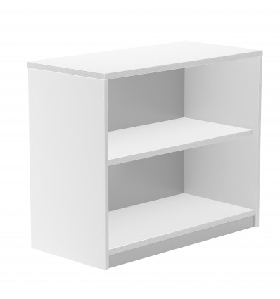 WARDROBE SHELF LOW WITHOUT DOORS 78x90x45 STRUCTURE WHITE/WHITE CAP