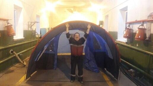 -- Grande Barraca Acampamento