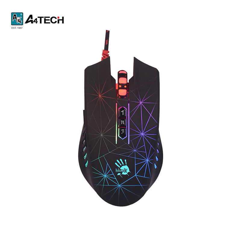 купить Gaming mouse A4Tech Bloody P81 Officeacc онлайн