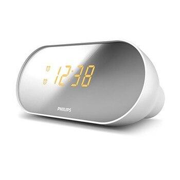 Clock Radio Philips AJ2000/12 LED FM White