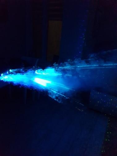 -- Máquina Fumaça Controle