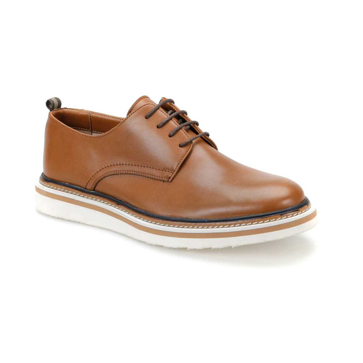 FLO 7180 Tan Men 'S Classic Shoes JJ-Stiller