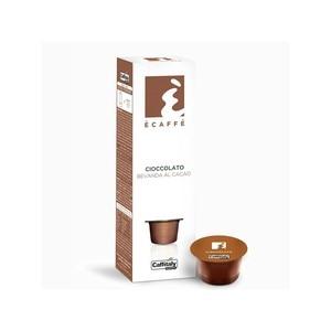 Caffitaly Cioccolato, 10 beverage capsules to the coffee cocoa of the brand Ècaffè