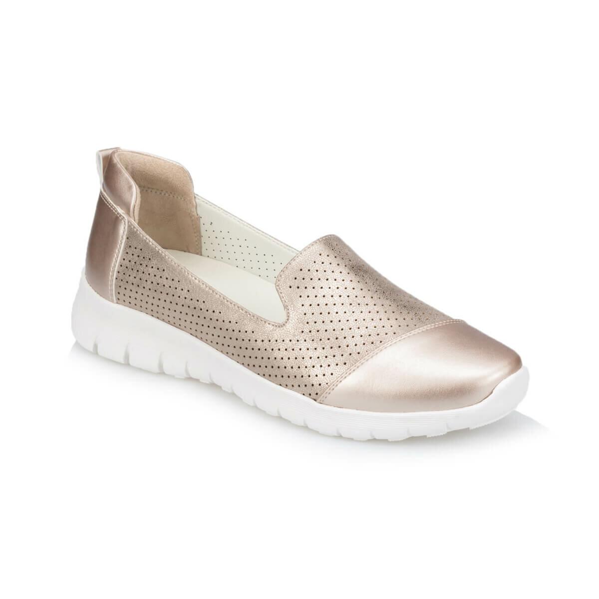 FLO TRV910029 Gold Women 'S Shoes Polaris