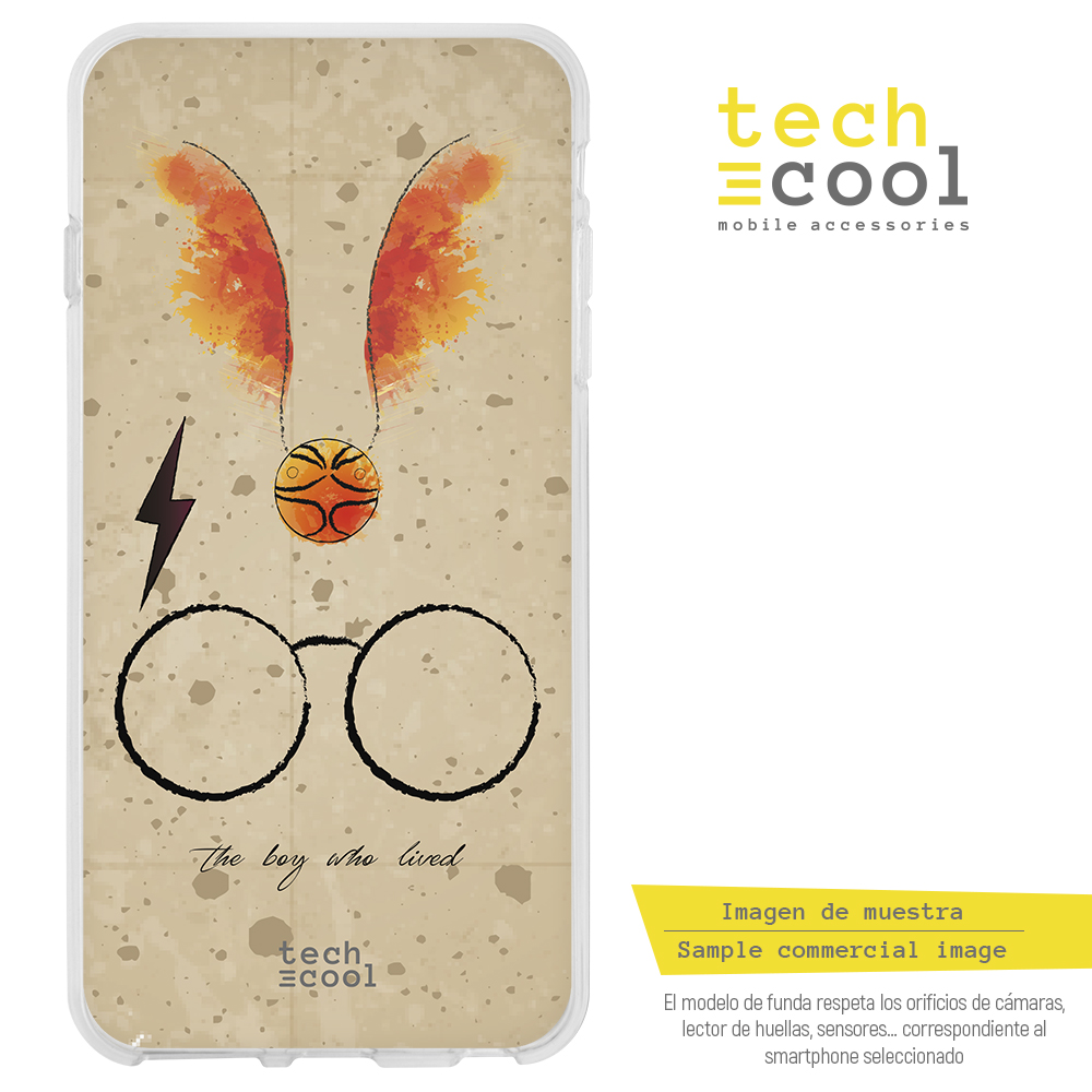FunnyTech® Funda Silicona para Honor View 20 / Honor V20 l Harry Potter Quidditch fondo piedra