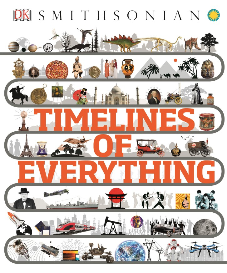 《萬物的時間線》封面圖片