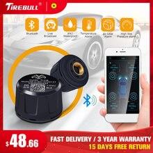 Sistema de monitoramento da pressão dos pneus do sensor de bluetooth do carro tpms para o aplicativo móvel de android dentro da barra 0-6.4 para suv/vans/vagões da estação