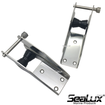 Sealux Marine Grade Stainless Steel 304 Bow Roller Anchor Roller with Pin and Nylon Roller for Yacht Boat Fishing Sail Accessory удилище морское fladen celtic boat roller tip 40lb